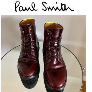 Men's PAUL SMITH Boots Haiti Chelsea Oxford SZ 10